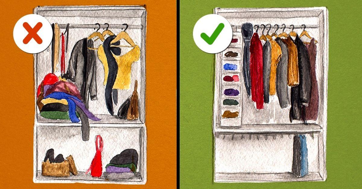 Вот что вам нужно, чтобы обустроить свою гардеробную