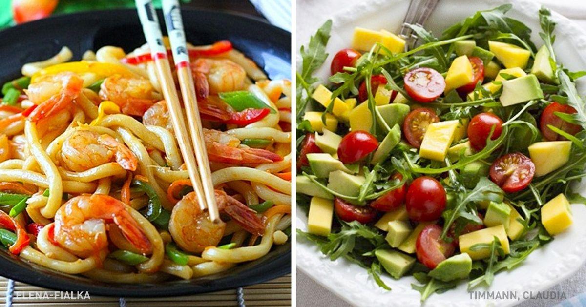 7вкуснейших ужинов, накоторые выпотратите меньше 20минут