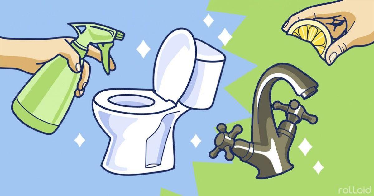 Простые игениальные хитрости для уборки дома