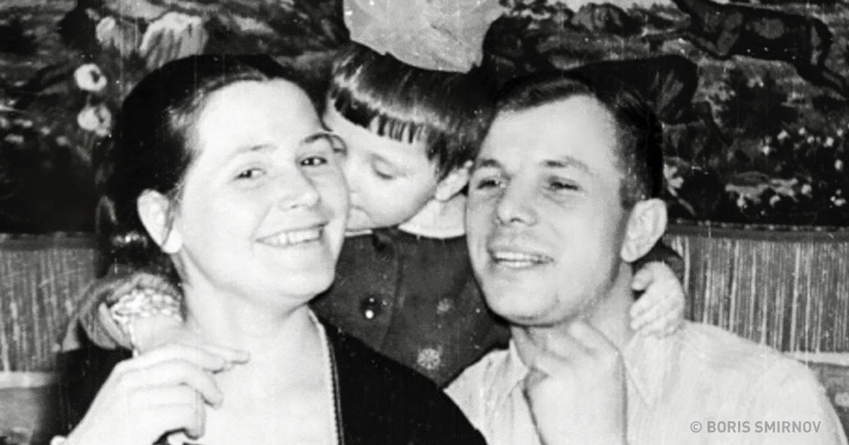 Трогательное письмо Юрия Гагарина жене идочкам