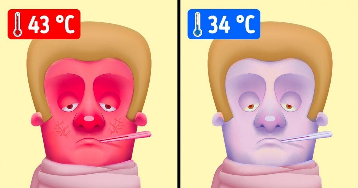 Если бы у человека была температура на градус ниже thumbnail