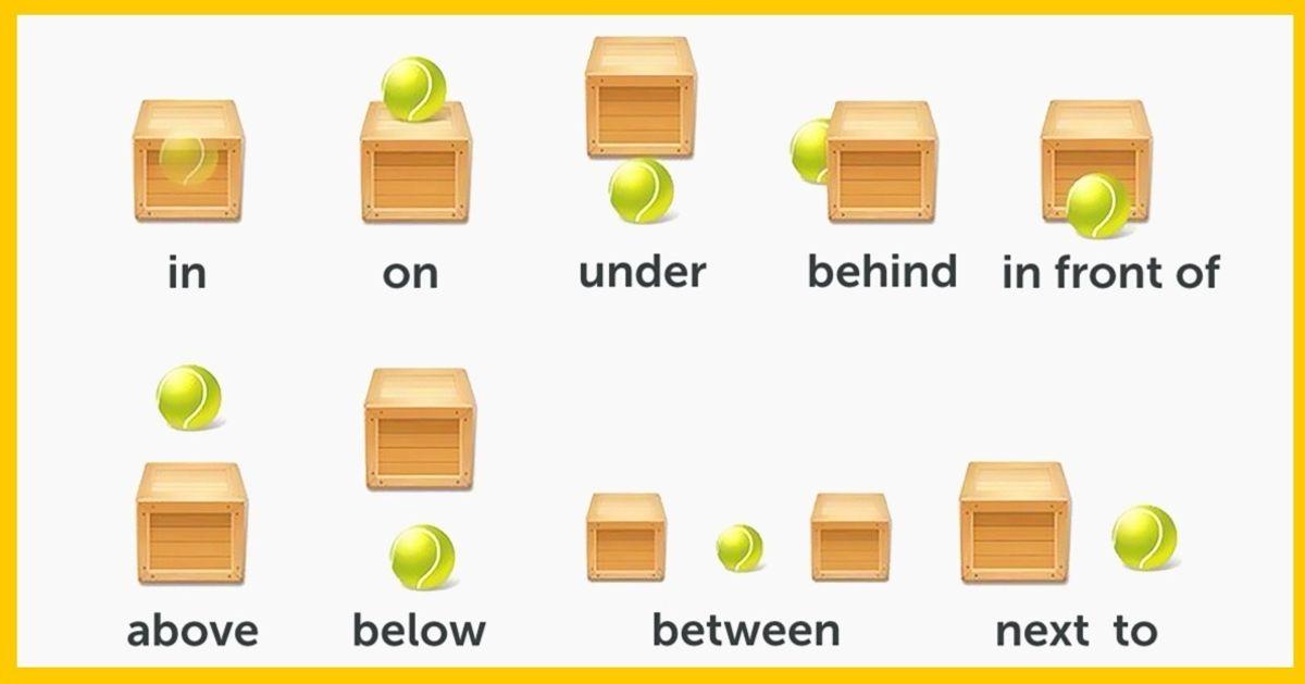 Предлоги английского языка, которые надо выучить впервую очередь