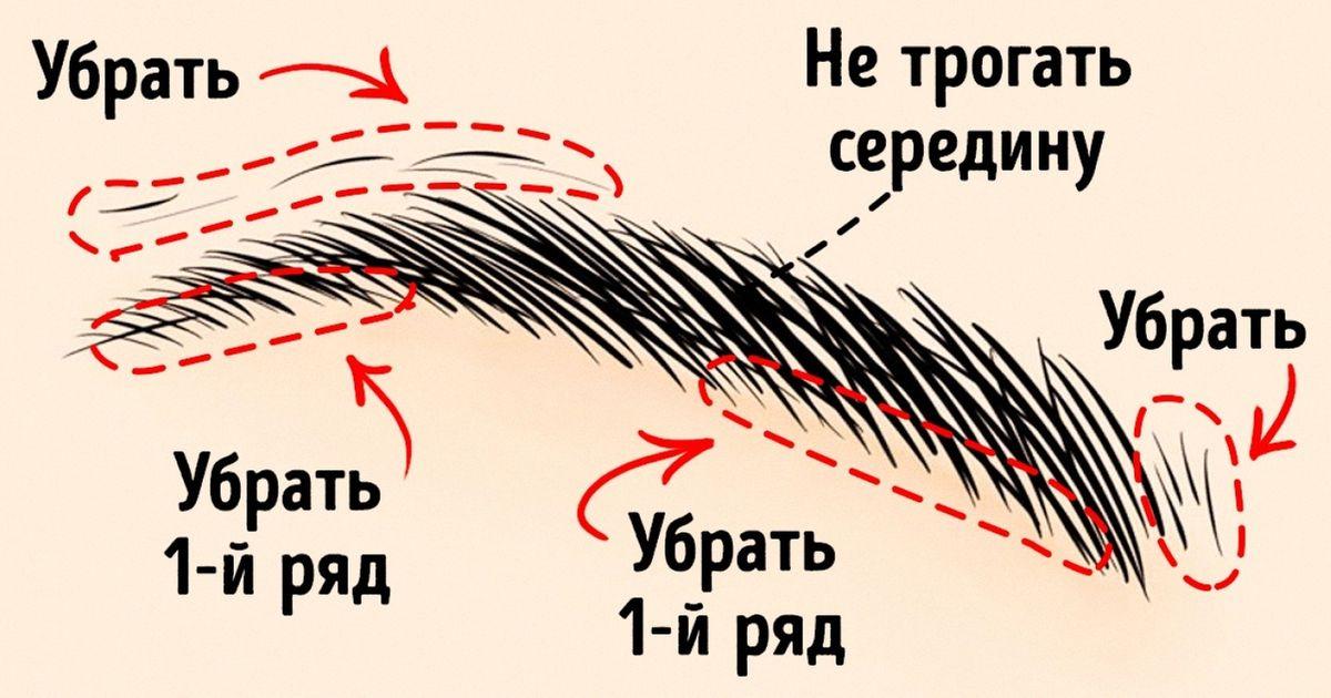 Как сделать брови ярко выраженными thumbnail