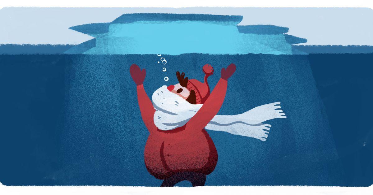 Как выжить, если выпровалились под лед