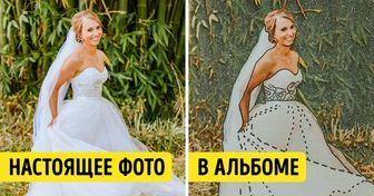 Фотограф нашел необычный способ помочь слепой женщине «увидеть» свои свадебные фото