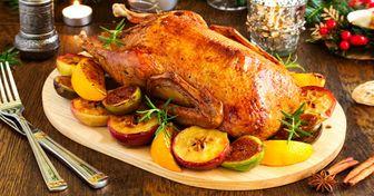 6секретов вкусной праздничной утки сяблоками