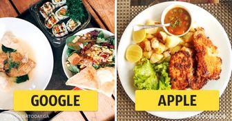 Как обедают вофисах мировых компаний