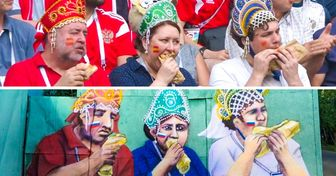 16фото колоритных болельщиков, без которых чемпионат мира пофутболу былбы гораздо скучнее