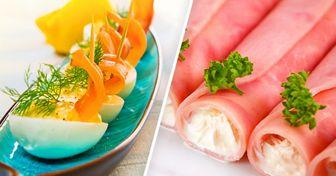 7вкуснющих праздничных закусок наскорую руку