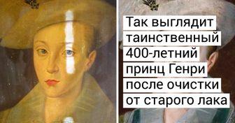 16 чудес реставрации от виртуозных спасателей картин