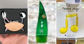 20+ привычных товаров, упаковка которых продумана до мелочей