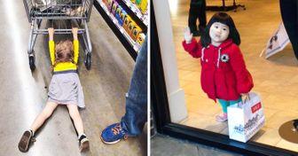 25фото, которые доказывают, что шопинг сдетьми— занятие для сильных духом