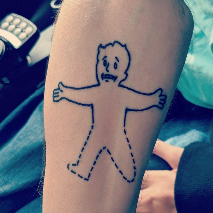 20 идей тату, на которые решатся лишь самые смелые