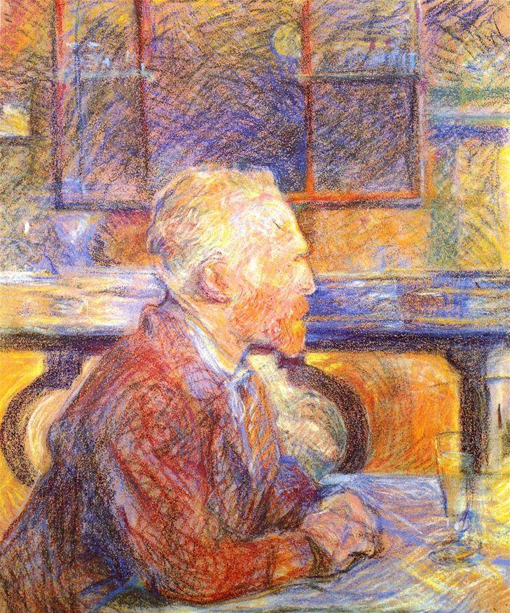 Портрет Винсента Ван Гога. 1887