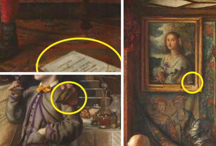 8 доказательств того, что в картины нужно вглядываться: тогда они раскроют вам все свои секреты