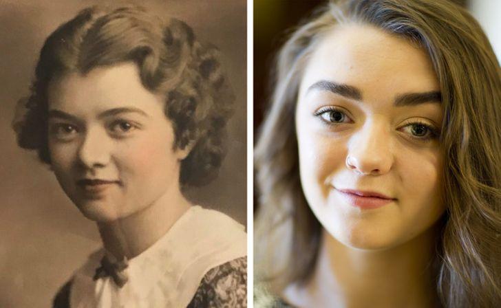 18 пользователей интернета показали своих родственников, которые кажутся двойниками знаменитостей