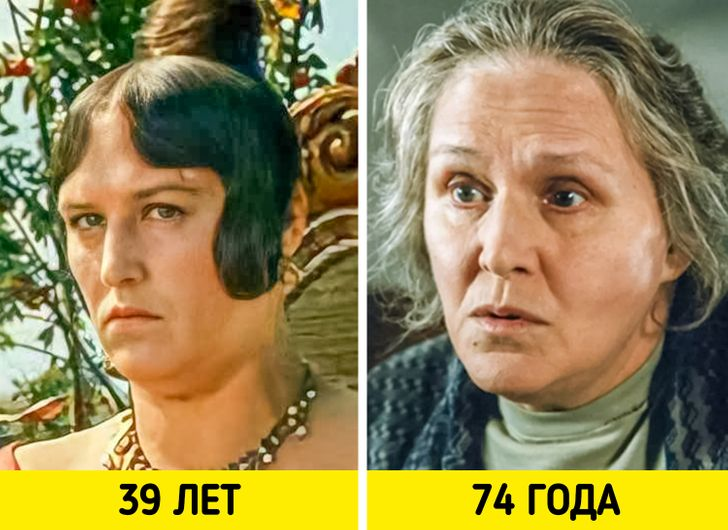 Как выглядели 17 талантливых советских актрис в своих звездных и последних ролях