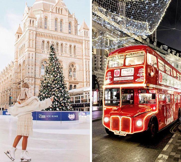 Посмотрите, как преобразились 14 красивейших городов мира в ожидании Рождества