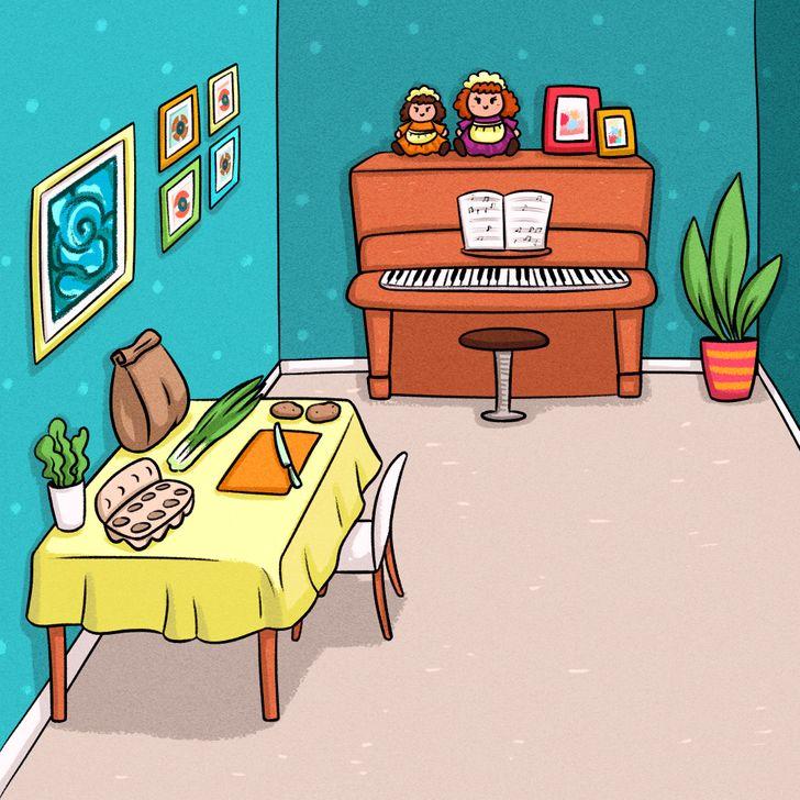 Попробуйте вычислить пообстановке квартир иххозяина инайдите того, кто неживет вэтом доме