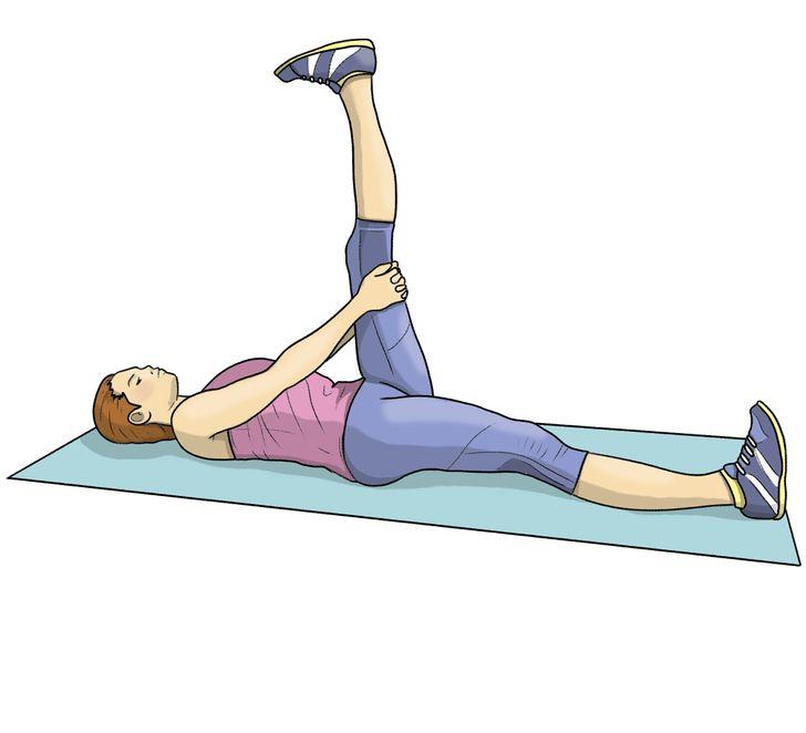 8упражнений нарастяжку, чтобы эффективно прокачать все тело