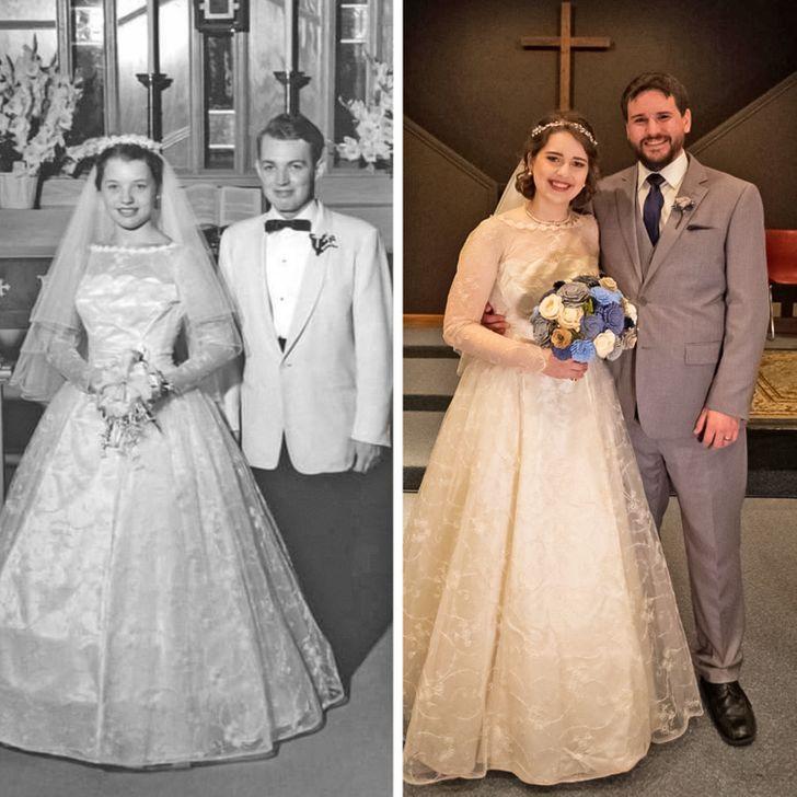 Пользователи сети поделились крутыми ретроснимками родственников и сравнили их с собой нынешними