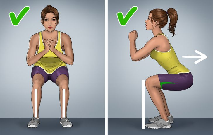 8 популярных упражнений, которые выполняют неправильно даже фитнес-инструкторы
