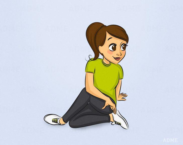 10упражнений, которые стоит выполнять каждый день, чтобы терять покилограмму внеделю