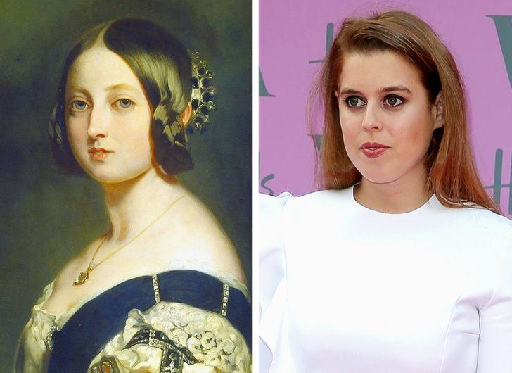 13 членов королевской семьи, которые поражают сходством со своими предками