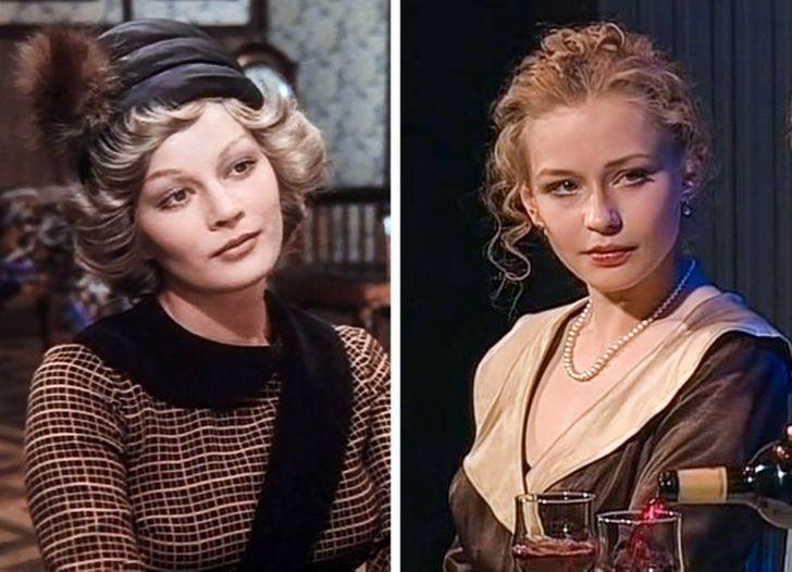 15 современных актеров, которые будто учились мастерству у советских звезд и даже стали на них похожи