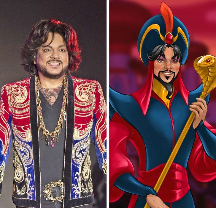 Как изменились бы 15+ любимых героев мультфильмов, если бы прообразами для них стали наши звезды