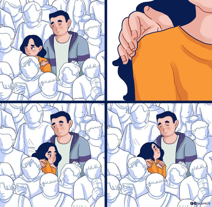 12 комиксов, которые близки каждому, кто хоть раз влюблялся по уши