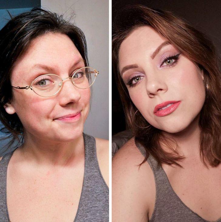 20+ простых девушек показали, что за крутым макияжем не обязательно идти к визажисту