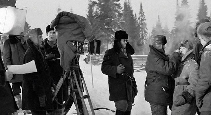 20неожиданных кадров сосъемок наших любимых советских фильмов