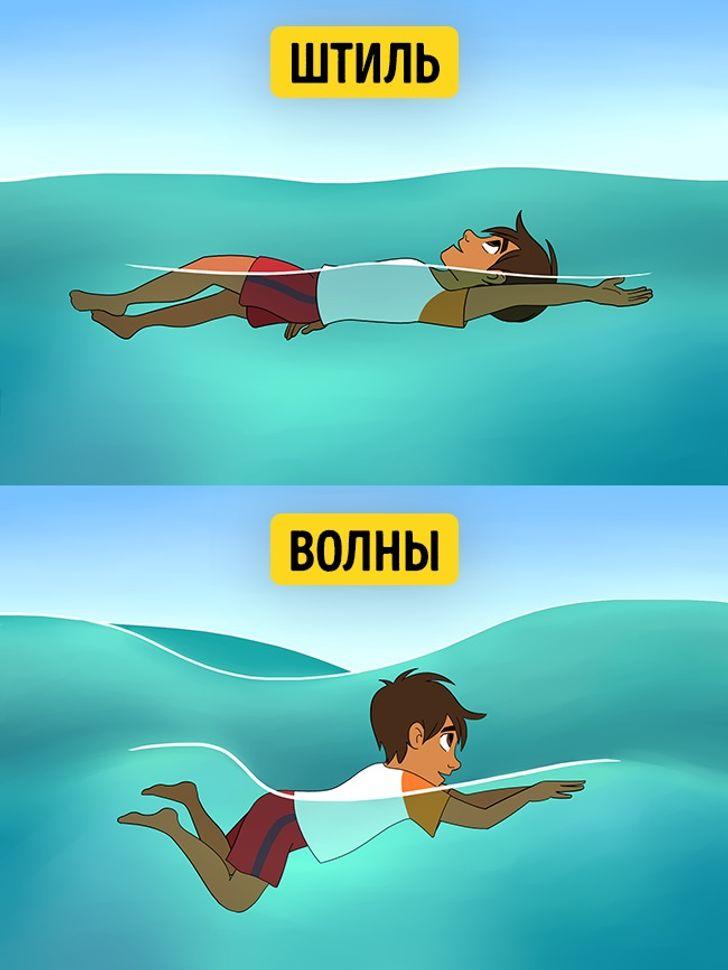 Что делать, если выоказались воткрытом море