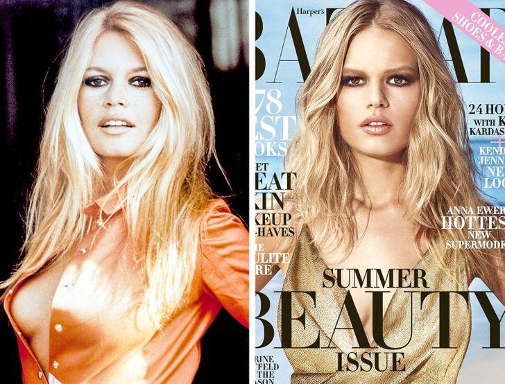 9современных красавиц, которые пришли насмену знаменитым модным иконамXX века