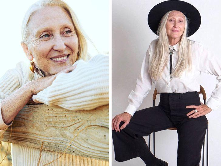 14 моделей старше 50, из-за успехов которых молодые манекенщицы кусают локти