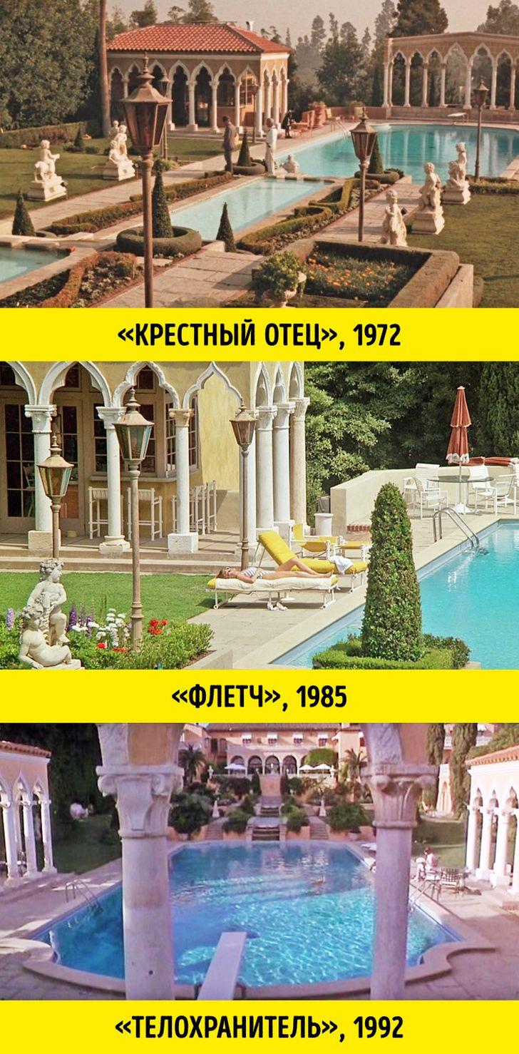11 голливудских локаций и предметов реквизита, которые путешествуют из фильма в фильм