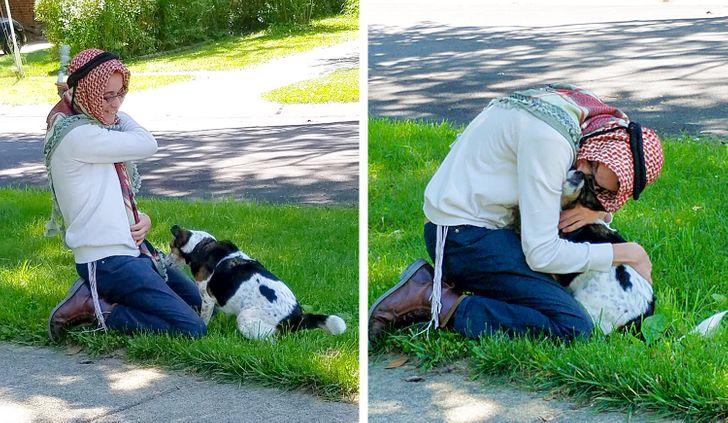 Парню пришлось расстаться слюбимой собакой нацелый год, ноего мама смогла облегчить ихразлуку