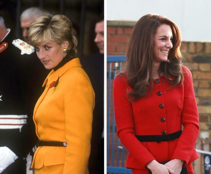 15+ случаев, когда Кейт Миддлтон отдала модную дань стилю принцессы Дианы