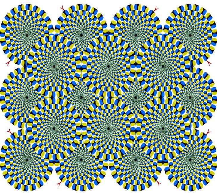 7оптических иллюзий, которые определят ваш уровень стресса занесколько секунд