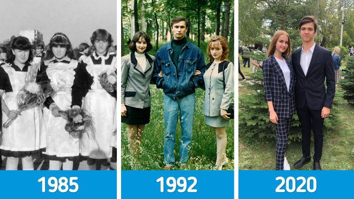 15 фотосравнений, которые продемонстрируют отличия современной школы от той, в которой учились мы с вами