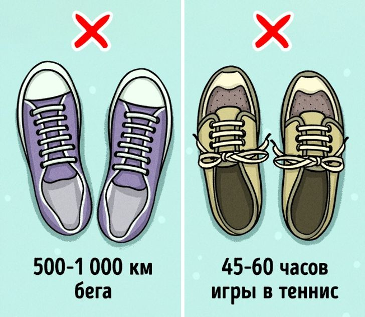 8признаков того, что пора менять кроссовки
