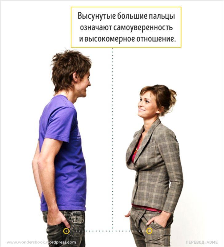 Секреты языка тела, которые точно пригодятся вобщении