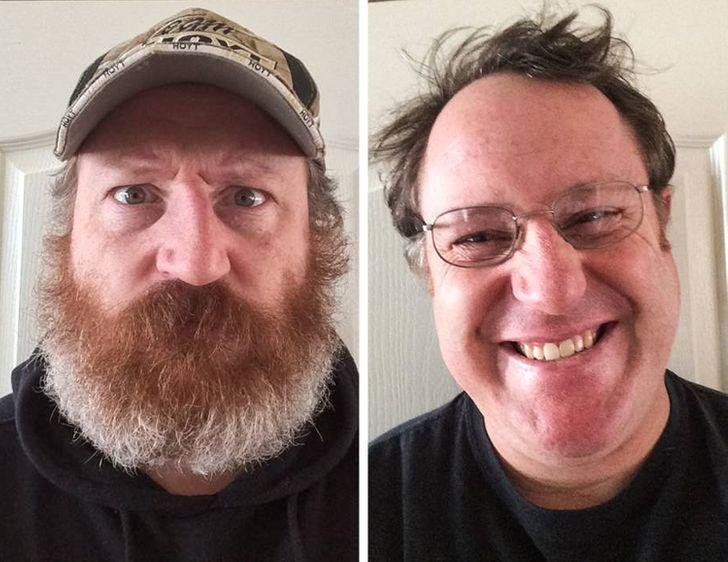 25 доказательств того, что для радикальных изменений мужчинам достаточно лишь сбрить или отрастить бороду