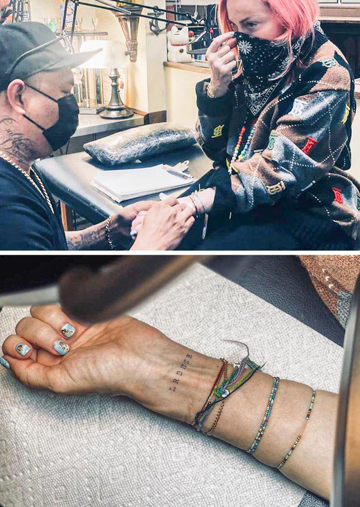 15+ знаменитостей, которые при выборе тату за изобретательностью в карман не полезут