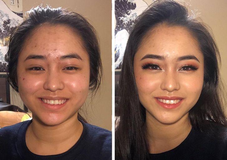 16 простых девушек, которые научились краситься и оставили визажистов без работы