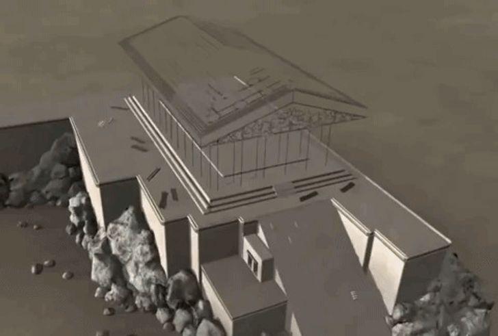 Дизайнеры спомощью компьютерной графики показали, как выглядели 7архитектурных шедевров древности