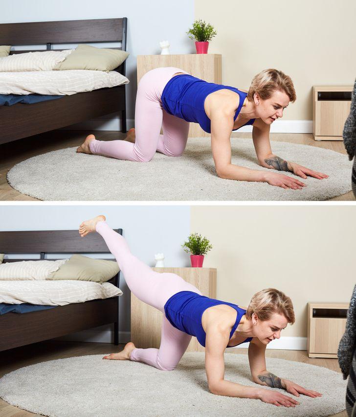 10упражнений, которые помогут накачать попу даже самым ленивым людям