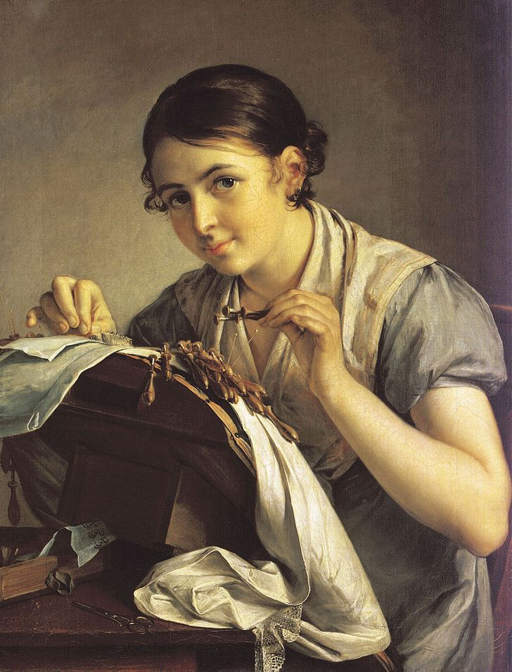 Работы в 19 веке для девушек модели плюс сайз работа москва
