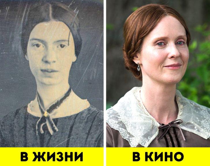 Как выглядели 13 женщин, которые творили историю, в кино и на самом деле